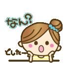 1.九州弁♥博多弁のかわいい女の子(個別スタンプ:35)