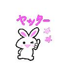 パンちゃんとウサぴん ②(個別スタンプ:24)