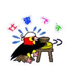 ユニークなキモモマイコ鳥の日常会話(個別スタンプ:20)