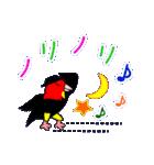 ユニークなキモモマイコ鳥の日常会話(個別スタンプ:30)