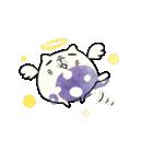コロコロ☆つぶにゃんこ(個別スタンプ:24)