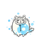 コロコロ☆つぶにゃんこ(個別スタンプ:36)