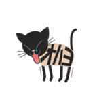 文字猫(個別スタンプ:1)