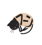 文字猫(個別スタンプ:6)