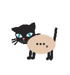 文字猫(個別スタンプ:7)
