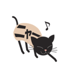 文字猫(個別スタンプ:12)