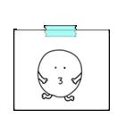 紙とテープ(個別スタンプ:10)