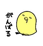 可愛いひよこちゃんスタンプ(個別スタンプ:15)