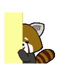 レッサーパンダのゆったりライフ2(個別スタンプ:02)