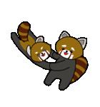 レッサーパンダのゆったりライフ2(個別スタンプ:10)