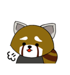 レッサーパンダのゆったりライフ2(個別スタンプ:22)