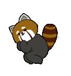 レッサーパンダのゆったりライフ2(個別スタンプ:23)