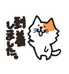 連絡にゃんこ(個別スタンプ:08)