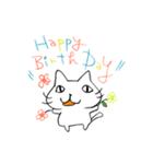 お誕生日おめでとう専用スタンプ(個別スタンプ:02)