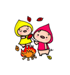 BUTAGOが四季のご挨拶♪(個別スタンプ:19)