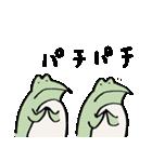 修行小僧とカエル(個別スタンプ:22)