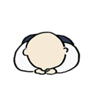 修行小僧とカエル(個別スタンプ:29)