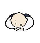 修行小僧とカエル(個別スタンプ:30)