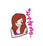 いろんな私③ 『Sexy girl』(個別スタンプ:18)