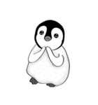 Chubby Penguins(個別スタンプ:04)