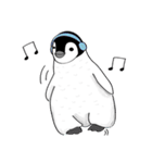 Chubby Penguins(個別スタンプ:34)