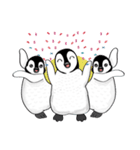 Chubby Penguins(個別スタンプ:36)