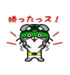 ヒロ猫(グリーン)(個別スタンプ:06)