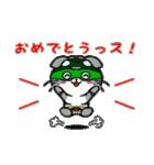 ヒロ猫(グリーン)(個別スタンプ:23)