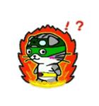 ヒロ猫(グリーン)(個別スタンプ:32)