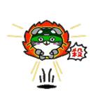 ヒロ猫(グリーン)(個別スタンプ:34)