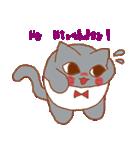 干支カレンダー【猫】(個別スタンプ:34)