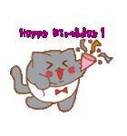 干支カレンダー【猫】(個別スタンプ:35)
