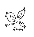 らくがきうお(個別スタンプ:03)