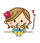 Girls方言だよっ♡沖縄女子(個別スタンプ:38)
