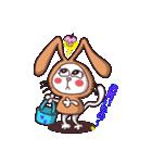 白猫「けなげ」の にゃんだかRabbiちゃん(個別スタンプ:01)