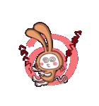 白猫「けなげ」の にゃんだかRabbiちゃん(個別スタンプ:15)
