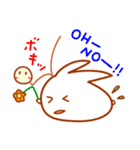 『満月ポン』ポンちゃん秋です(個別スタンプ:16)
