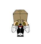 紙袋紳士(個別スタンプ:04)
