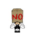 紙袋紳士(個別スタンプ:06)