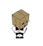 紙袋紳士(個別スタンプ:30)