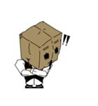 紙袋紳士(個別スタンプ:31)