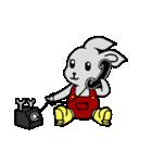 灰色兎の日常生活(個別スタンプ:32)