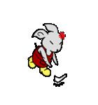 灰色兎の日常生活(個別スタンプ:36)