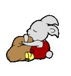 灰色兎の日常生活(個別スタンプ:40)