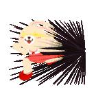 ポンポンとモモの日常(日本語バージョン)(個別スタンプ:21)