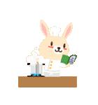 ポンポンとモモの日常(日本語バージョン)(個別スタンプ:23)
