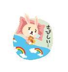 ポンポンとモモの日常(日本語バージョン)(個別スタンプ:30)