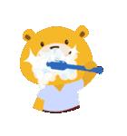 ポンポンとモモの日常(日本語バージョン)(個別スタンプ:36)