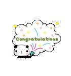 おめでとうパンダ(個別スタンプ:23)