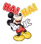 しゃべる♪ミッキーマウスと仲間たち(個別スタンプ:10)